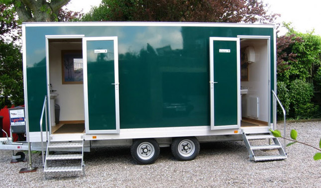 Landy S Mobile Toilet Trailers